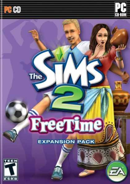 Bestselling Games (2008) - The Sims 2: FreeTime