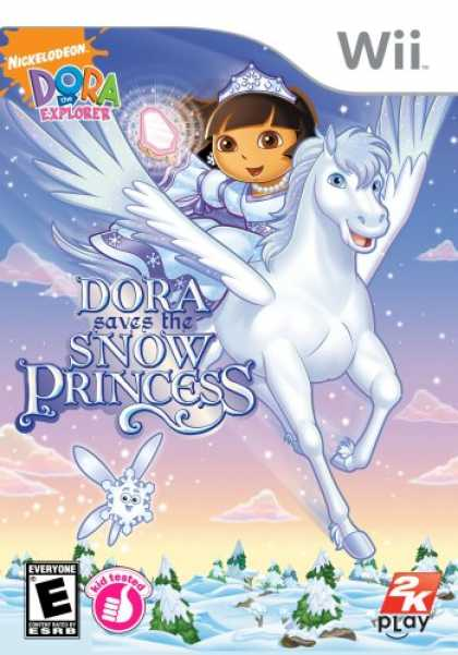 Bestselling Games (2008) - Dora the Explorer: Dora Saves the Snow Princess