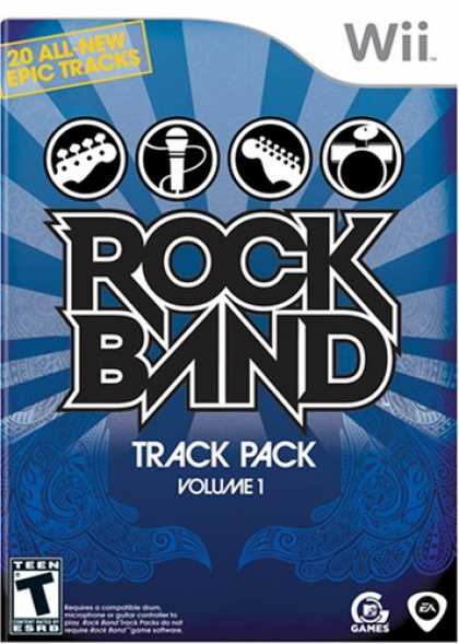 Bestselling Games (2008) - Rock Band Track Pack: Vol. 1