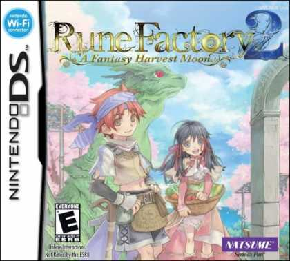 Bestselling Games (2008) - Rune Factory 2: A Fantasy Harvest Moon