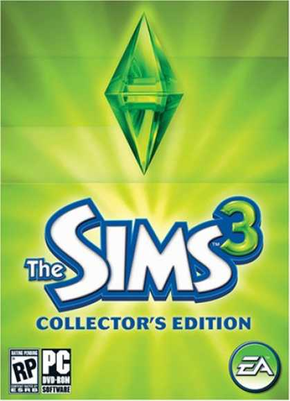 Bestselling Games (2008) - The Sims 3 Collector's Edition