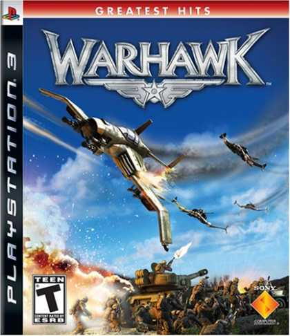 Bestselling Games (2008) - Warhawk (No Headset)