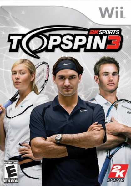 Bestselling Games (2008) - Top Spin 3