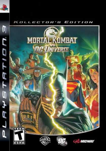 Bestselling Games (2008) - Mortal Kombat VS DC Universe Collector's Edition