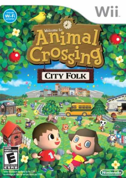 Bestselling Games (2008) - Animal Crossing: City Folk