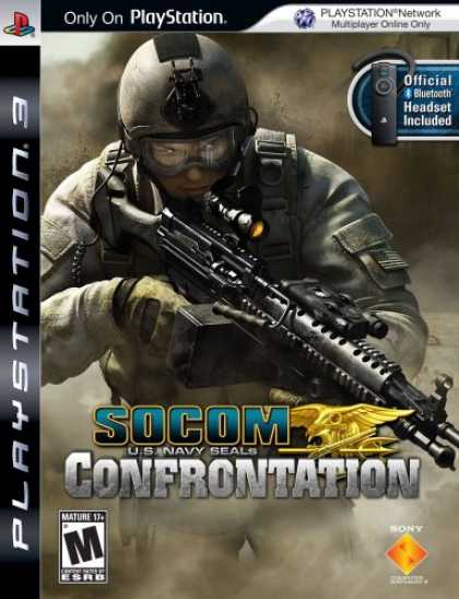 Bestselling Games (2008) - SOCOM: U.S. Navy SEALs Confrontation bundled with Bluetooth Headset