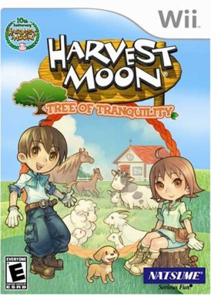 Bestselling Games (2008) - Harvest Moon: Tree of Tranquility