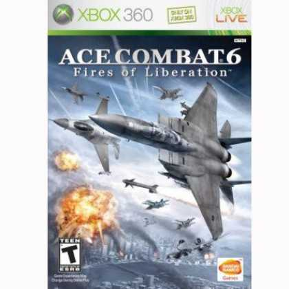 Bestselling Games (2008) - Ace Combat 6: Fires of Liberation