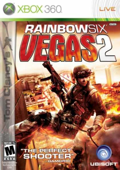 Bestselling Games (2008) - Tom Clancy's Rainbow Six Vegas 2