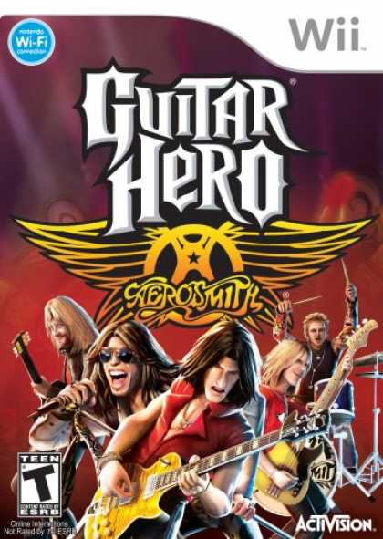 Bestselling Games (2008) - Guitar Hero Aerosmith Wii