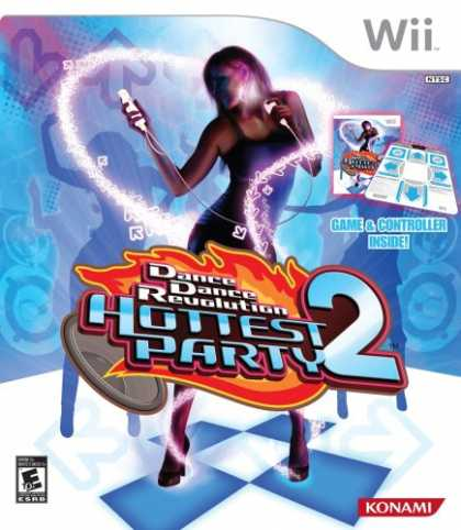 Bestselling Games (2008) - Dance Dance Revolution Hottest Party 2 with Dance Mat