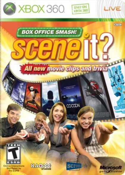 Bestselling Games (2008) - Scene it? Box Office Smash (GameOnly)