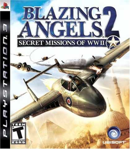 Bestselling Games (2008) - Blazing Angels 2: Secret Missions of WWII