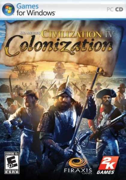 Bestselling Games (2008) - Sid Meier's Civilization IV: Colonization