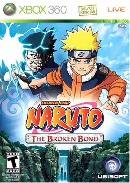 Bestselling Games (2008) - Naruto: The Broken Bond