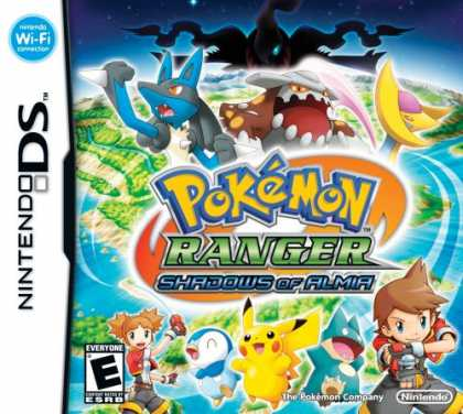 Bestselling Games (2008) - Pokemon Ranger: Shadows of Almia