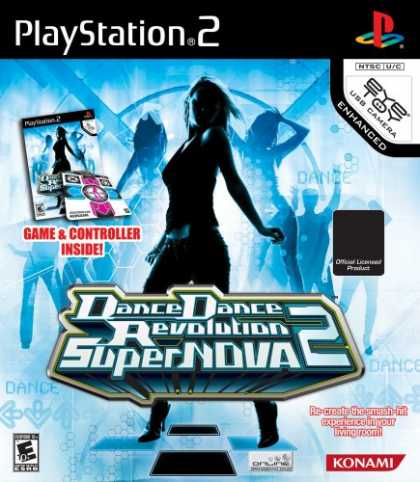 Bestselling Games (2008) - Dance Dance Revolution SuperNova 2 Bundle (includes Dance Mat)