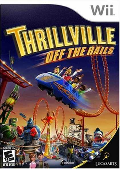 Bestselling Games (2008) - Thrillville: Off the Rails