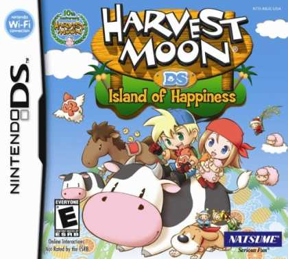 Bestselling Games (2008) - Harvest Moon: Island of Happiness