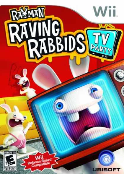 Bestselling Games (2008) - Rayman Raving Rabbids TV Party