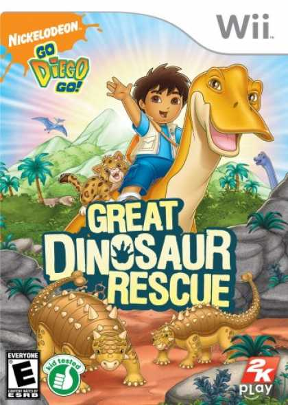 Bestselling Games (2008) - Go, Diego, Go!: Great Dinosaur Rescue