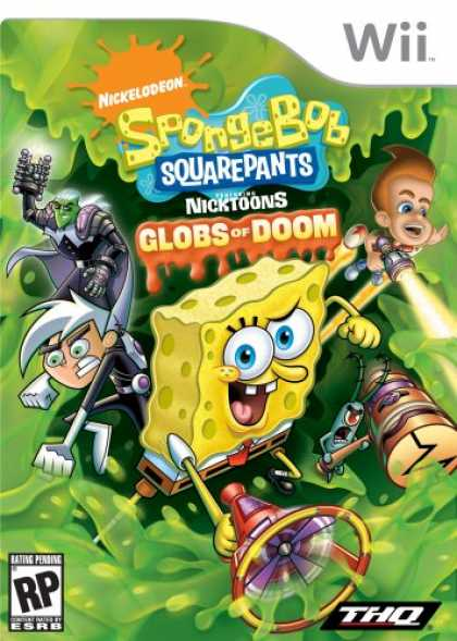 Bestselling Games (2008) - SpongeBob SquarePants featuring NickToons: Globs of Doom