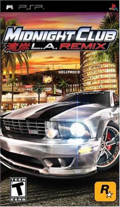 Bestselling Games (2008) - Midnight Club: LA Remix
