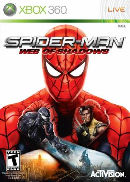 Bestselling Games (2008) - Spider-Man: Web of Shadows