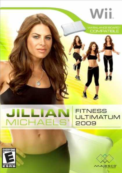 Bestselling Games (2008) - Jillian Michaels Fitness Ultimatum 2009