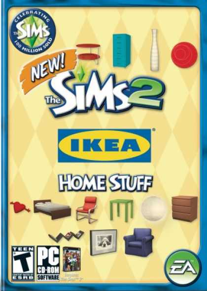 Bestselling Games (2008) - The Sims 2: IKEA Home Stuff