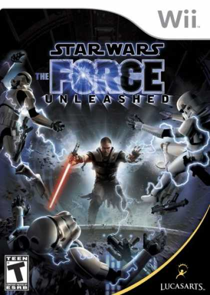 Bestselling Games (2008) - Star Wars: The Force Unleashed