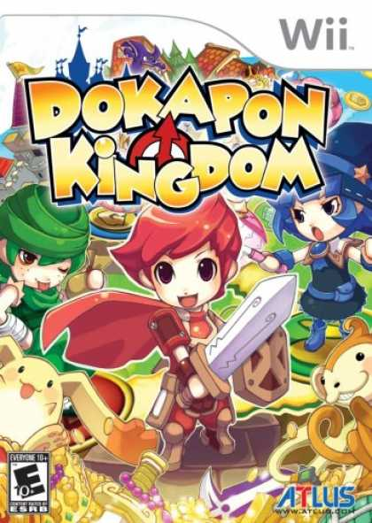 Bestselling Games (2008) - Dokapon Kingdom