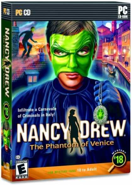 Bestselling Games (2008) - Nancy Drew: The Phantom of Venice