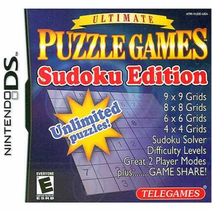 Bestselling Games (2008) - Ultimate Puzzle Games: Sudoku Edition for Nintendo DS