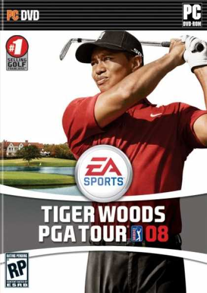 Bestselling Games (2008) - Tiger Woods PGA Tour 08 DVD