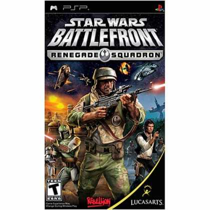 Bestselling Games (2008) - Star Wars Battlefront: Renegade Squadron