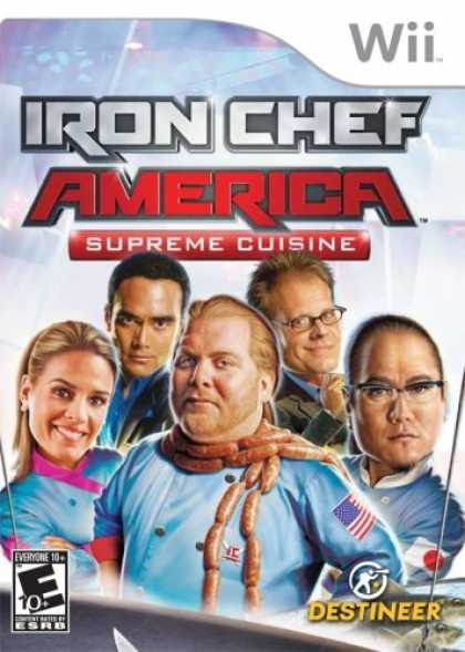 Bestselling Games (2008) - Iron Chef America/Supreme Cuisine