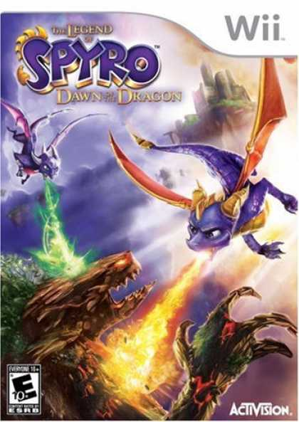 Bestselling Games (2008) - Legend of Spyro: Dawn of the Dragon