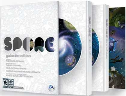 Bestselling Games (2008) - Spore Galactic Edition