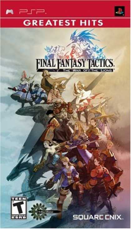 Bestselling Games (2008) - Final Fantasy Tactics: The War of the Lions