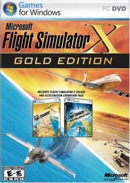Bestselling Games (2008) - Flight Sim X-Gold
