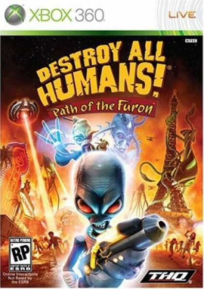 Bestselling Games (2008) - Destroy All Humans! Path of The Furon