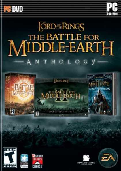 Bestselling Games (2008) - The Lord of the Rings Battle for Middle Earth Anthology