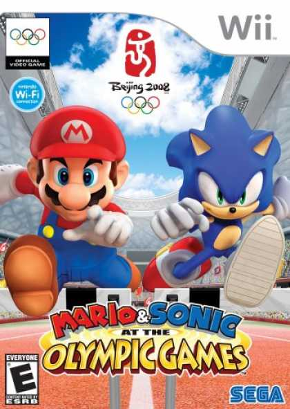 Bestselling Games (2008) - Mario & Sonic at the Olympic Games