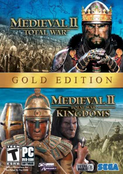 Bestselling Games (2008) - Medieval II Gold Pack (Total War, Total War Kingdoms)