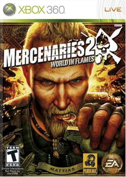 Bestselling Games (2008) - Mercenaries 2: World in Flames