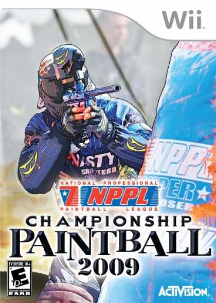 Bestselling Games (2008) - NPPL Championship Paintball 2009