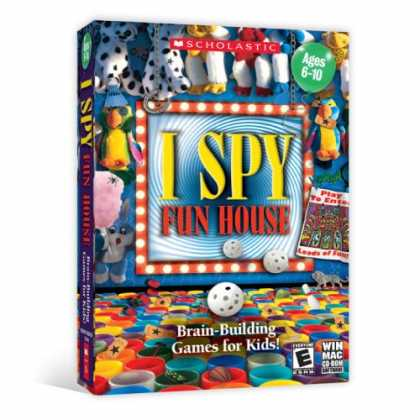 Bestselling Games (2008) - I Spy Funhouse