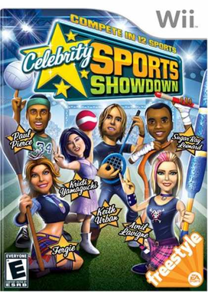 Bestselling Games (2008) - Celebrity Sports Showdown