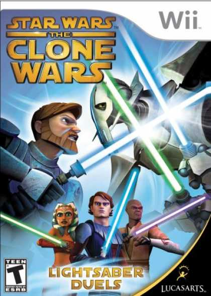 Bestselling Games (2008) - Star Wars The Clone Wars: Lightsaber Duels